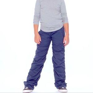 IVIVVA Lululemon Navy Dance Studio Pants Girls 10